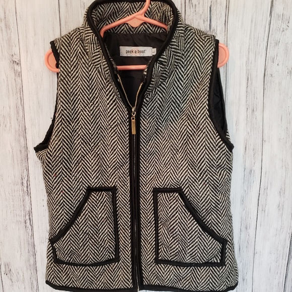 Peek A Boot Other - Peek A Boot Girls Printed Vest